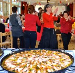 paella cuisinee sur place